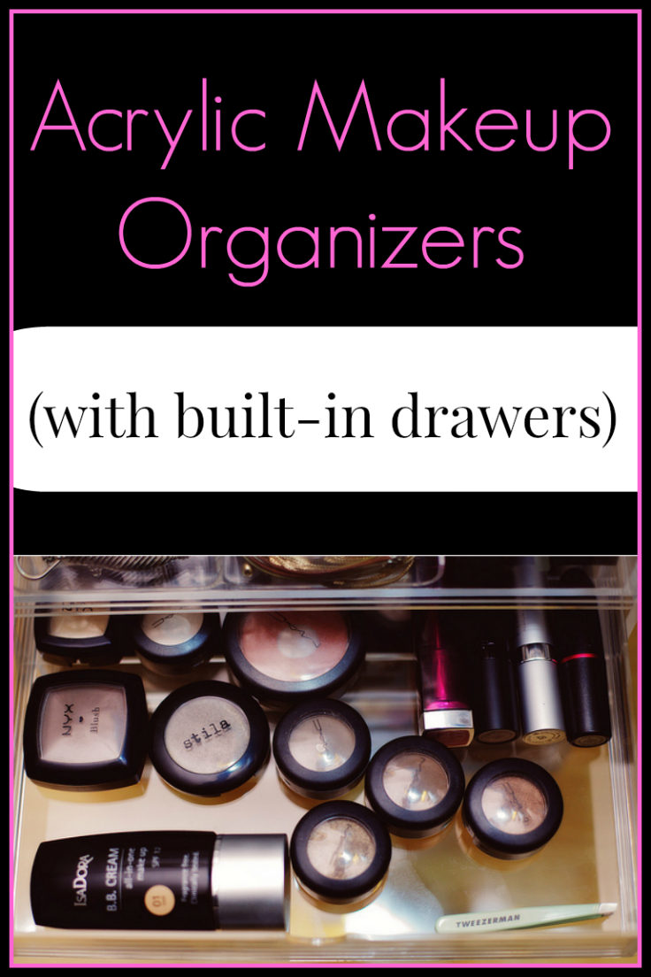Acrylic Clear Makeup Organizers With Drawers Part 94