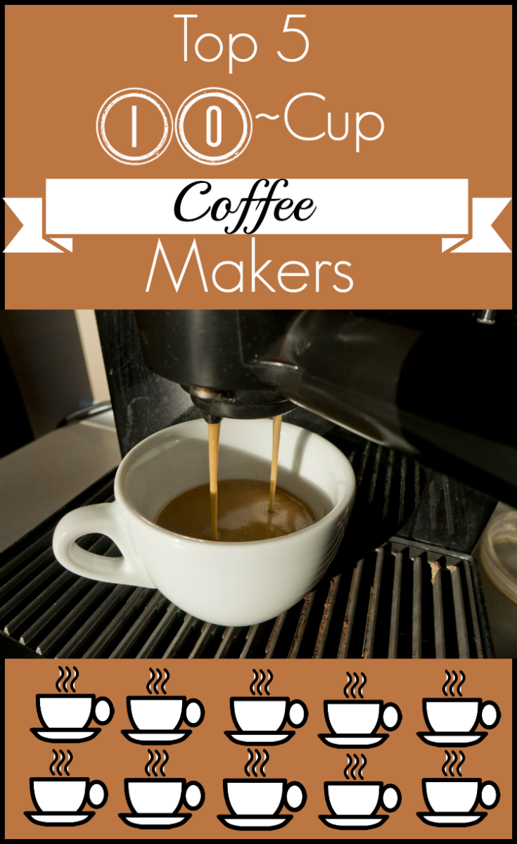 5 Best 10 Cup Coffee Makers - My Snazzy Finds