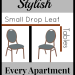 Small Drop Leaf Tables for Small Homes