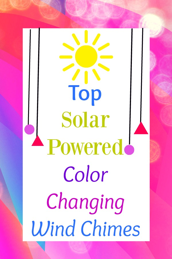 Top Solar Powered Color Changing Wind Chimes