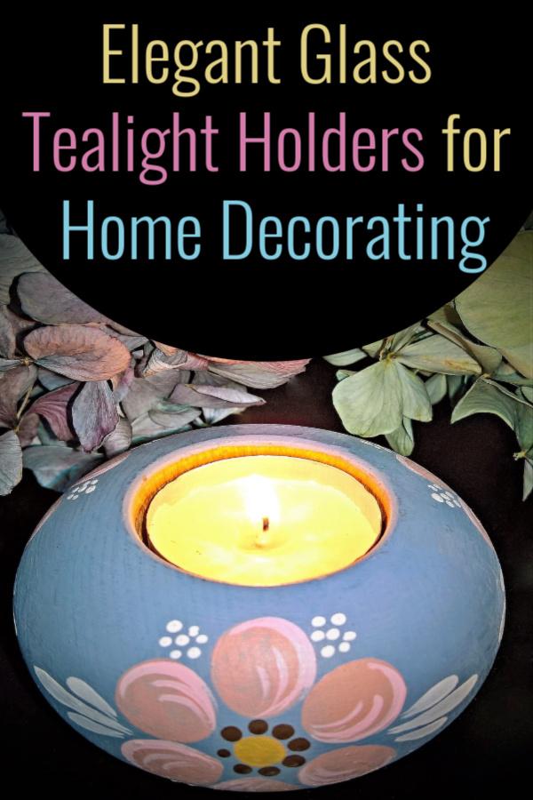 Elegant Glass Tealight Holders for Home Decorating